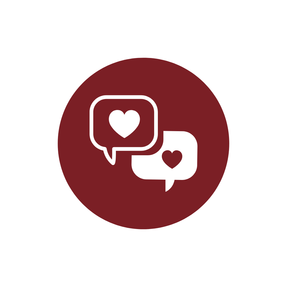 Icon für Bewertungen, Zitate, Referenzen