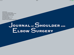 Journal of shoulder - Reviewer Dr. Robert Url