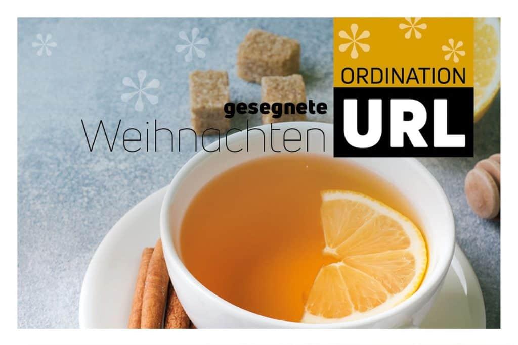 Gesegnete Weihnachten - Ordination Dr. Url