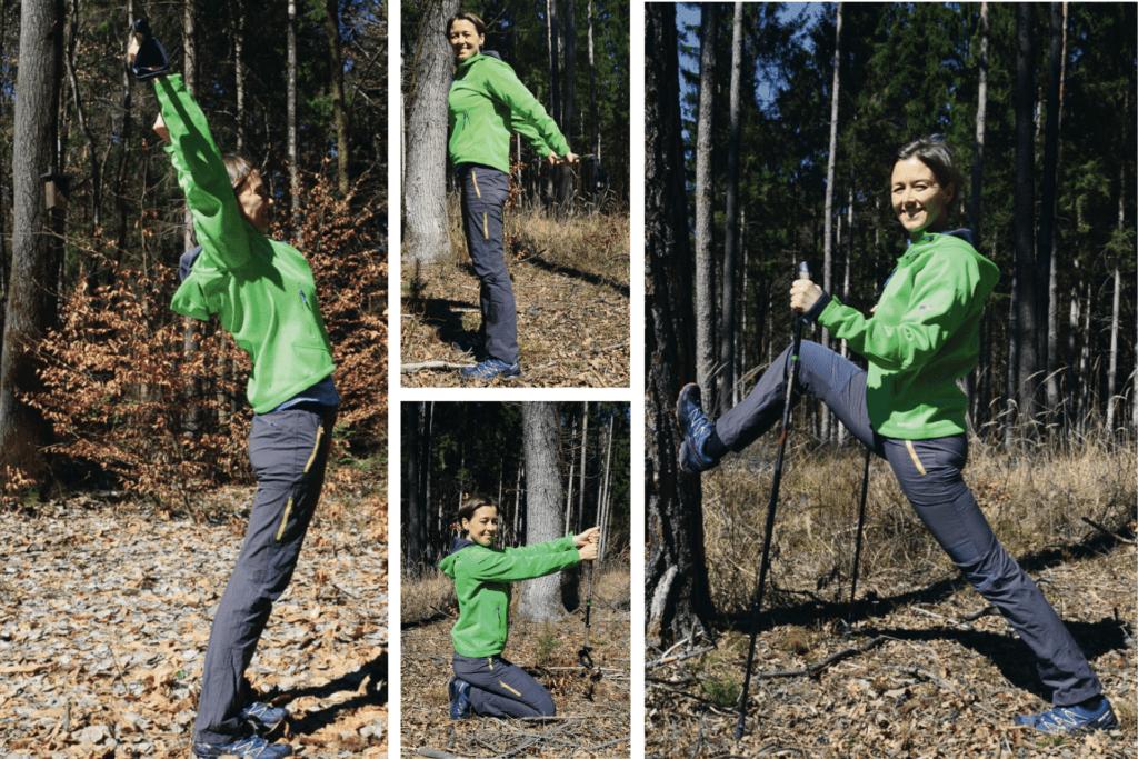 Outdoor Bewegungsprogramm für den goldenen Herbst