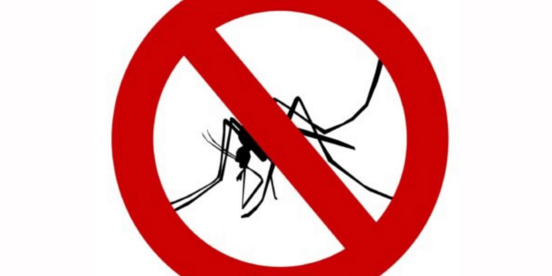 Was hilft gegen Mückenstiche durchgestrichene Mücke